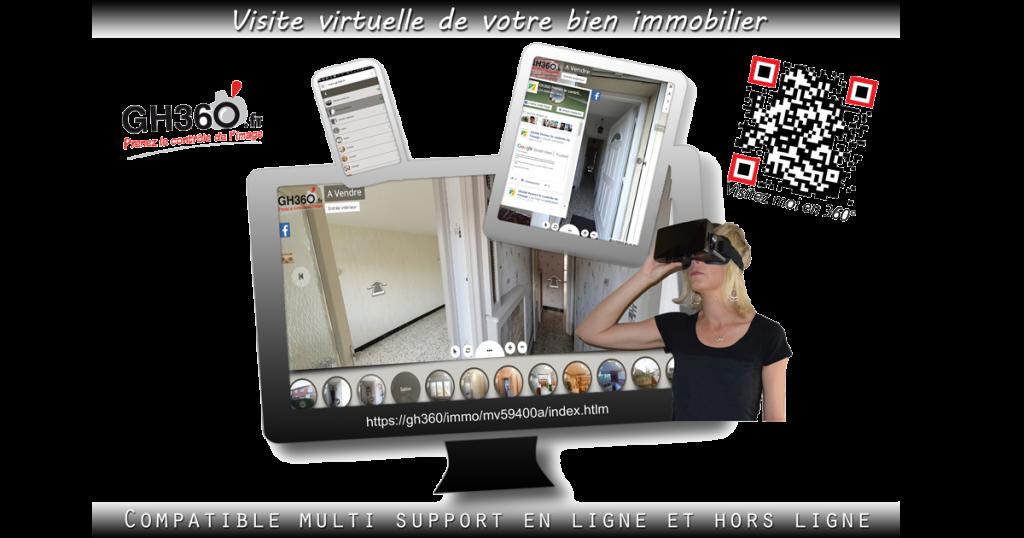 visite virtuelle de votre bien immobilier